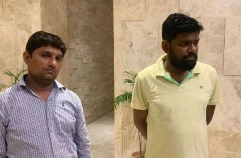 जिला पंचायत सदस्य का अपहरण करने के प्रयास के आरोप में, जिला पंचायत अध्यक्ष के दो रिश्तेदार हुये गिरफ्तार