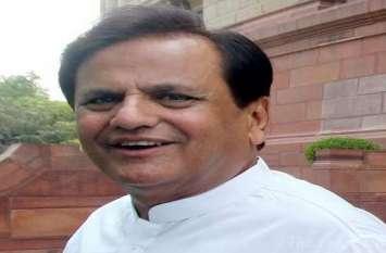 RS election: कांग्रेस विधायकों को बैंगलूरू ले जाने का पता एक दिन बाद चला : अहमद पटेल