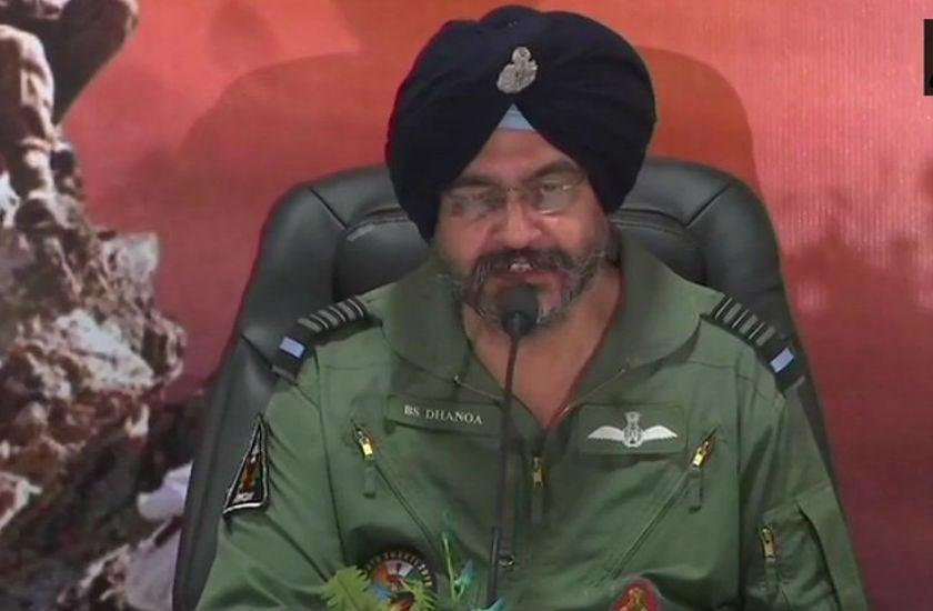 IAF चीफ बोले- बालाकोट में हमने सैन्य लक्ष्य हासिल किया, राफेल होता तो परिणाम अलग होते; एयरस्पेस में नहीं घुस पाया पाक