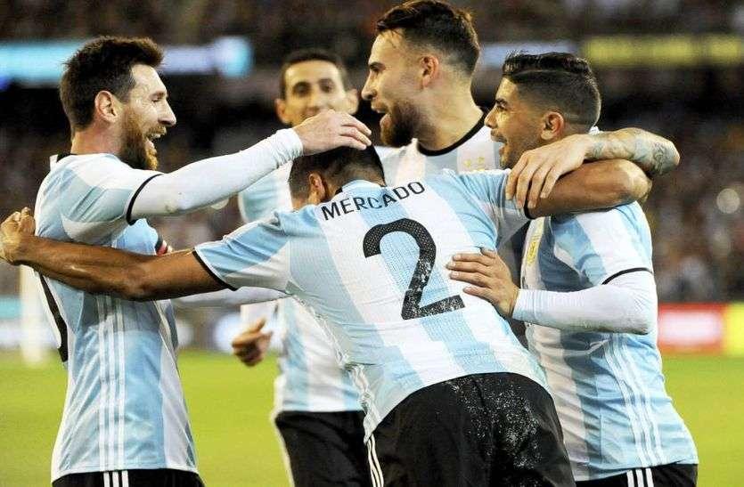 कोपा अमेरिका कप फुटबॉल : अर्जेंटीना पहुंचा क्वार्टर  फाइनल में, कतर को 2-0 से हराया