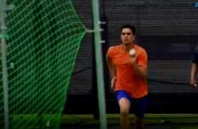 विश्व कप क्रिकेट : अर्जुन तेंदुलकर ने इंग्लैंड के बल्लेबाजों को कराया अभ्यास