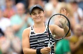 टेनिस रैंकिंग : नोवाक जोकोविक पहले स्थान पर बरकरार, एश्ले बार्टी बनीं नई महारानी