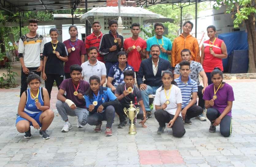 उदयपुर के मुक्केबाजों ने जीती राज्य जूनियर चैम्पियनशिप