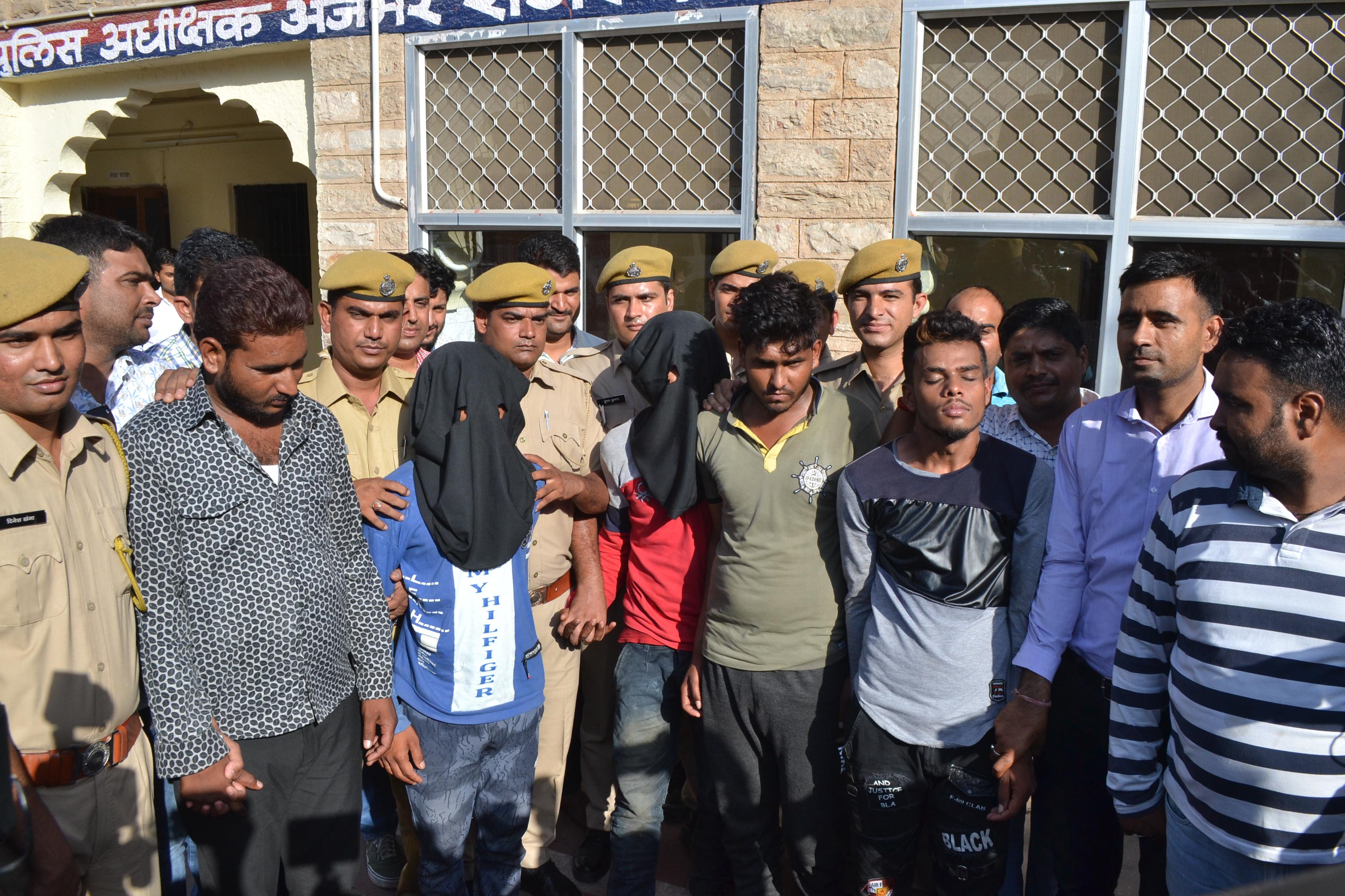 Beawar Rape Case : वकील साहब को दी सोशल मीडिया पर धमकी