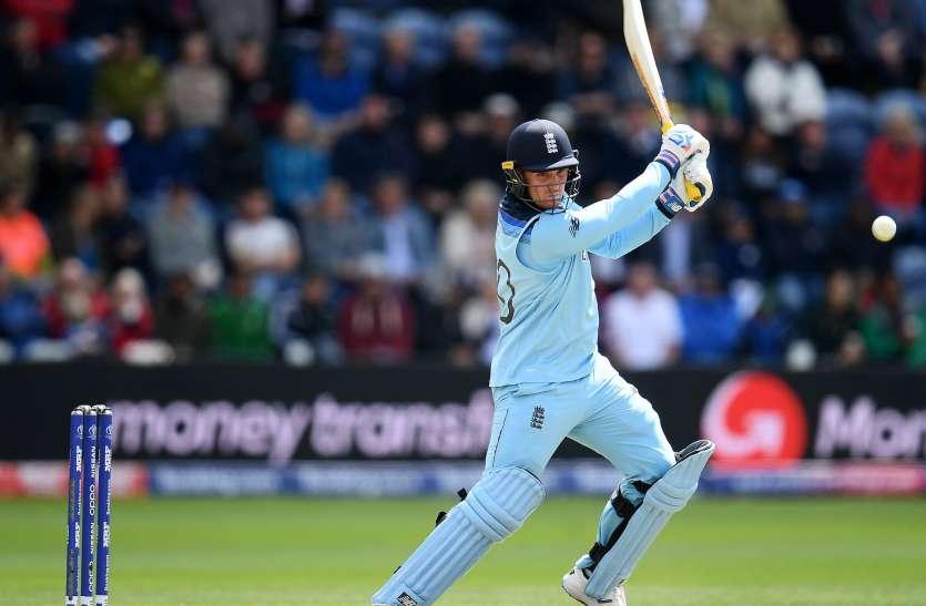 क्रिकेट वर्ल्ड कपः इंग्लिश बल्लेबाज जेसन रॉय की चोट को लेकर बड़ा अपडेट