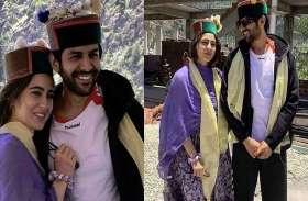शिमला की वादियों में शूटिंग कर रहे सारा- कार्तिक, सामने आई खास तस्वीरें