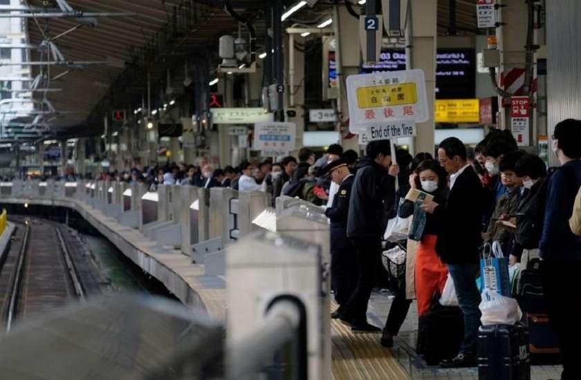 railway chaos in japan