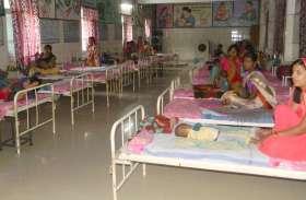 लाख कोशिशों के बाद भी इस जिले के 14 फीसदी बच्चे कुपोषित