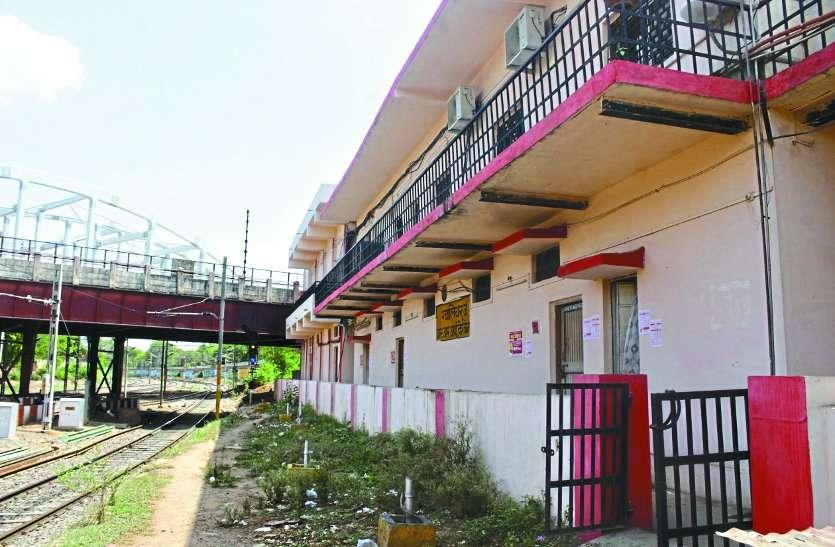 railway third line work between dholpur to jhansi