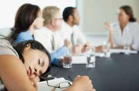 कभी सोचा है की भीड़भाड़ वाली जगह या कांफ्रेंस हाल में क्यों महसूस होती है थकान