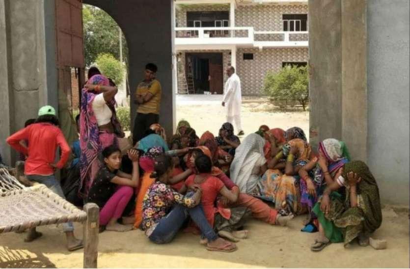 अमंगलः मथुरा की सड़कों पर 'झपकी' का कहर