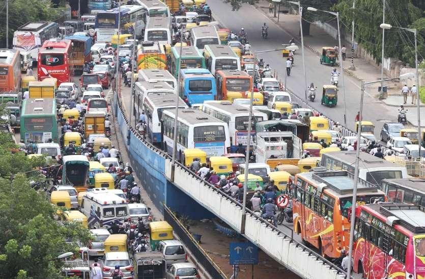 Road Jam: हजारों की संख्या में बेंगलूरु की सड़कों पर क्यों उमड़ा वाल्मीकि समाज!!!