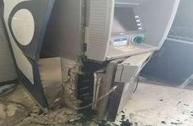एसएसपी ऑफिस के पीछे कलेक्ट्रेट परिसर में लगे ATM की बदमाशों ने कर दी ऐसी हालत