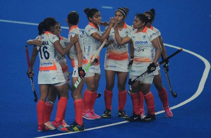 सीरीज जीत के बाद भारतीय महिला हॉकी टीम ने बस में किया जोरदार डांस, VIDEO हुआ वायरल