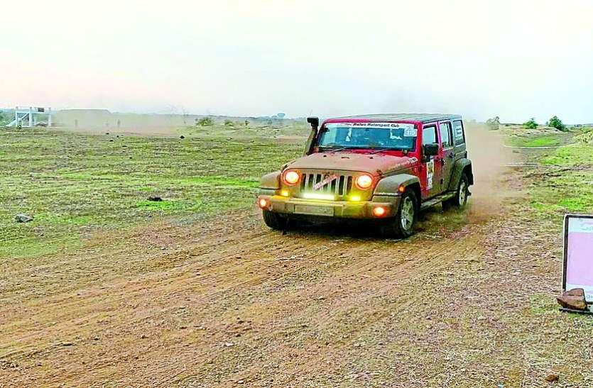 पीथमपुर के ऑटो टेस्टिंग ट्रैक पर खत्म हुई मालवा मोटर स्पोर्ट कार रैली
