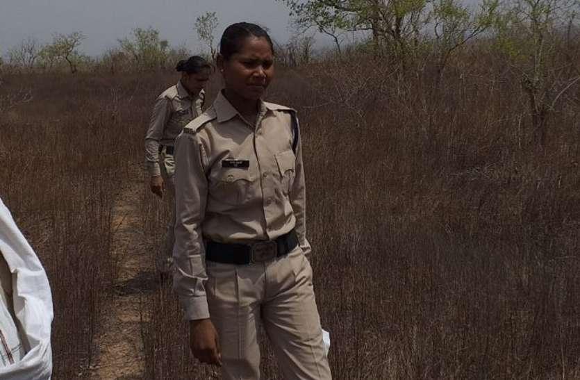 बच्ची की तलाश में फिर जंगल में कूदी पुलिस, फिर भी हाथ खाली