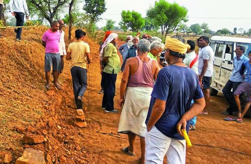 बड़ोखर-करहिया प्रधानमंत्री सड़क को मिली स्वीकृति, किया गया सीमांकन