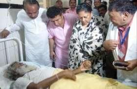 Rajasthan Jasol Tent Collapse: राजे ने घायलों से की मुलाक़ात, डॉक्टर्स से ली अपडेट