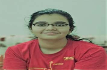 IIT Gandhinagar Stundent आईआईटी गांधीनगर की छात्रा ने पाई कारगिल ग्लोबल स्कॉलरशिप