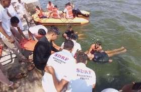 आनासागर में कूदा युवक , जवानों ने बचाई जान