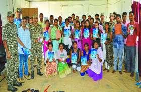 जंगल में मंगल, ITBP जवानों की फ्री कोचिंग में पढ़कर नक्सल क्षेत्र के सौ युवाओं ने पास की SCC लिखित परीक्षा
