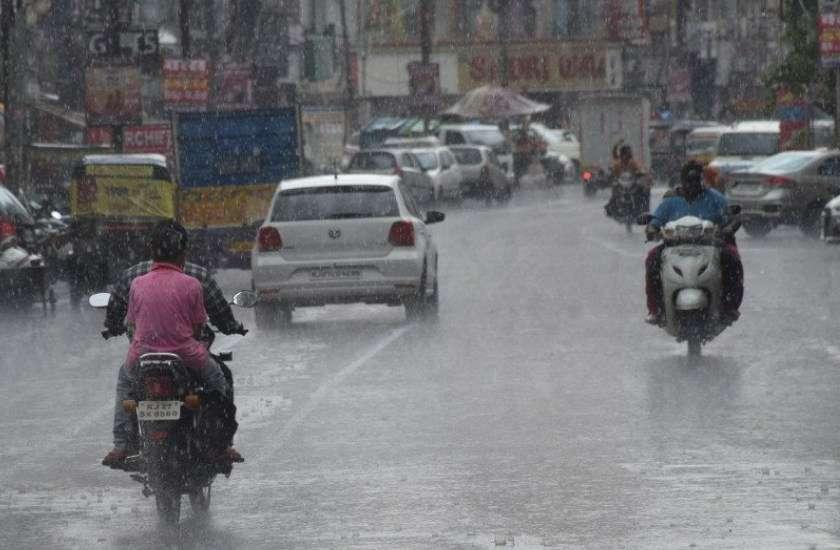 heavy rain in rajasthan