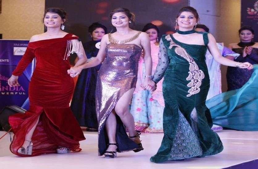 सिंगापुर व मुंबई में फिर छाई झुंझुनूं की फैशन डिजाइनर बहनों की ड्रेस