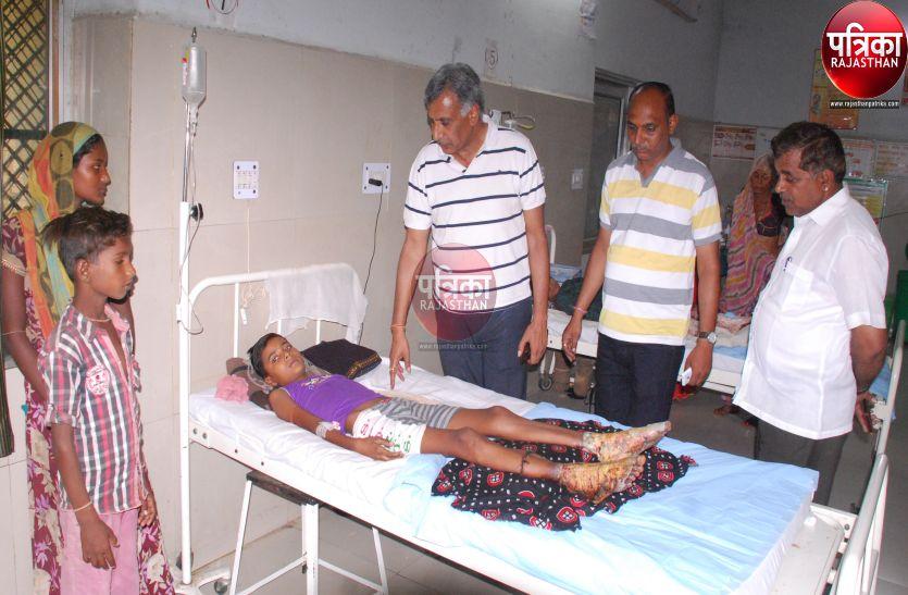 VIDEO : झुलसे बच्चों का उपचारी जारी, पार्षदों का अल्टीमेटम : तेजाबी जख्म देने वालों के खिलाफ हो सख्त कार्रवाई