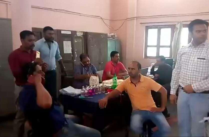 Raid : वाणिज्य कर कार्यालय बीना में लोकायुक्त का छापा, दो अधिकारी रिश्वत लेते पकड़े