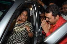 जसोल हादसे के पीडि़त परिवारों को सांत्वना देने पहुंची पूर्व मुख्यमंत्री राजे, फिर आएंगी जोधपुर
