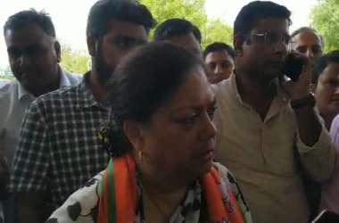 पूर्व मुख्यमंत्री राजे ने सरकार के सिर फोड़ा जसोल हादसे का ठीकरा, कहा बड़ी चूक है यह