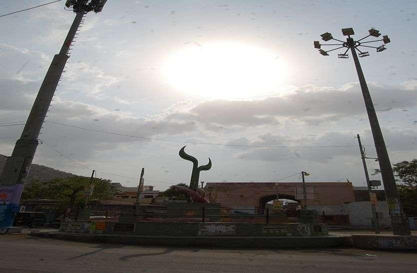 राजस्थान के मौसम का हाल: कहर बरपाती रही उमस, तेज हवा चलने का अनुमान
