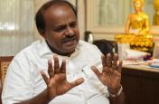 कर्नाटक के CM कुमारस्वामी भड़के, लोगों से बोले- वोट मोदी को दिया, फिर यहां क्यों आए हो