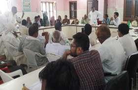 हंगामे की भेंट चढ़ी साधारण सभा की बैठक, सदस्यों ने विकास अधिकारी पर लगाए भ्रष्टाचार के आरोप