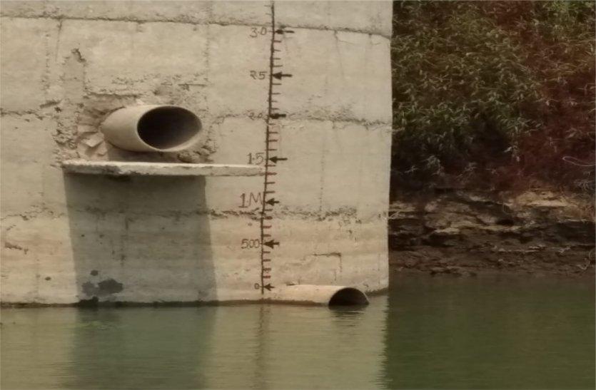 नदी का जलस्तर घटा, अब बारिश से लगी आस, पढ़ें खबर
