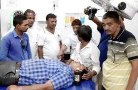 इंदौर में बैट मार विधायक के बाद सतना में नगर पंचायत अध्यक्ष ने मारा डंडा, सुनिए वारदात के बाद क्या बोले एसपी