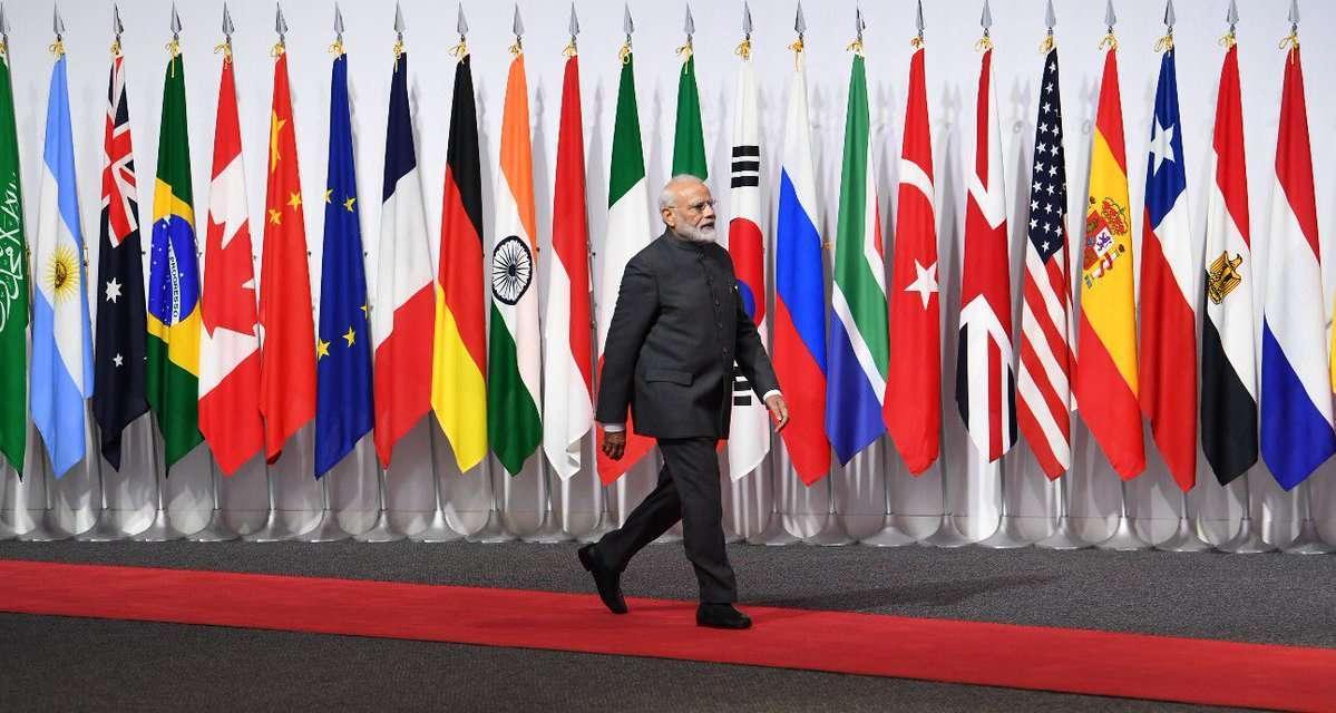 PM Modi at G20 summit