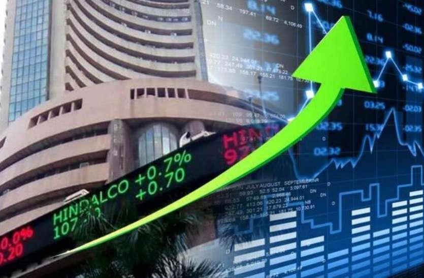 बैंकिंग शेयरों में तेजी के दम पर बाजार में तेजी, सेंसेक्स 51 हजार के करीब