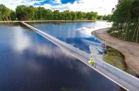 क्या आप पेड़ या पानी पर साइकिल चला सकते हैं ?