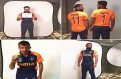टीम इंडिया की नई जर्सी में कुछ इस अंदाज में दिखे कोहली और धोनी, वायरल हुई फोटो