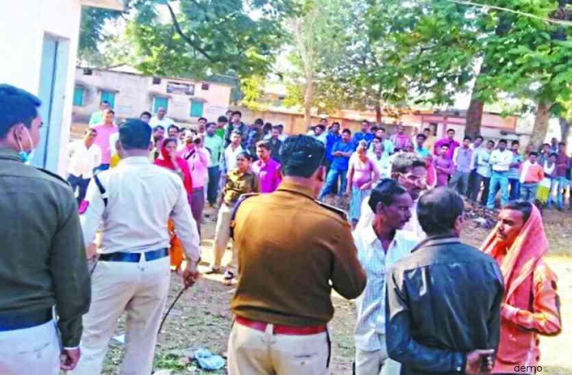 दिन दहाड़े युवक पर हथौड़े से किया सिर पर वार, हत्या के बाद गांव में फैली सनसनी