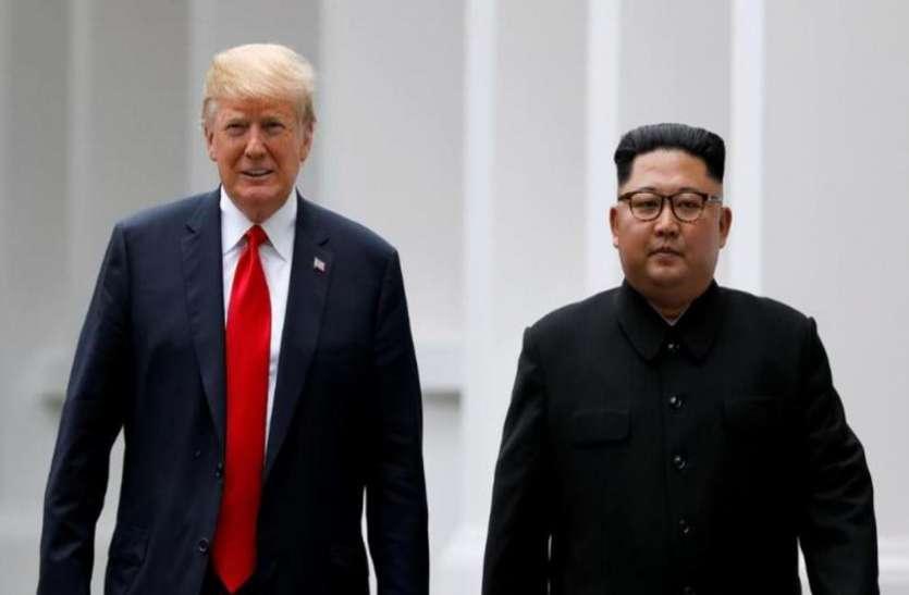 डोनाल्ड ट्रंप ने उठाया ऐतिहासिक कदम, उत्तर कोरिया पहुंचकर की किम जोंग उन से मुलाकात