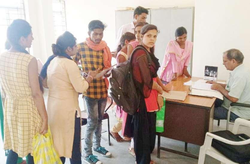 छात्रों की समस्या को देखते हुए बढ़ाई गई प्रवेश की तिथि