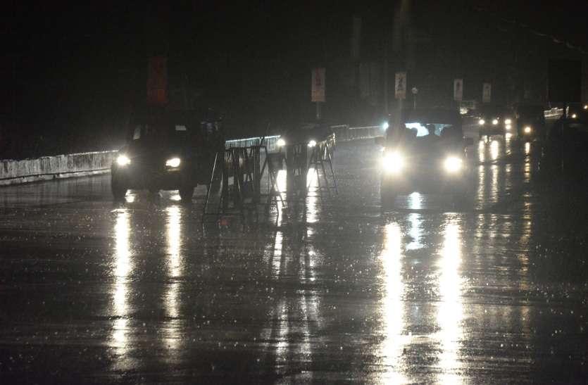 एक घंटे की बारिश से खोली शहर की ड्रेनेज सिस्टम की पोल, जगह-जगह पानी भरा