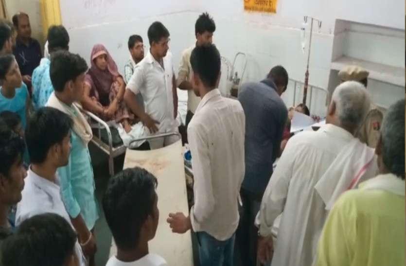 भरतपुर : बाजार में फायरिंग से दौड़ी दहशत, गोली लगने से युवक घायल, बाइक सवार 3 बदमाश हुए फरार