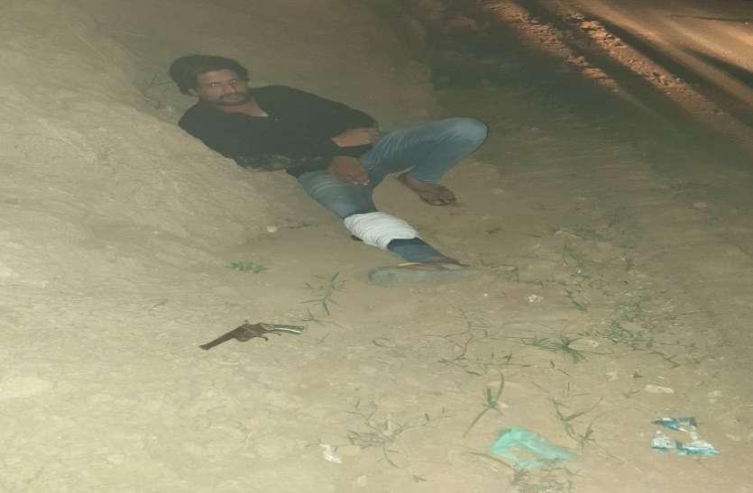 मुख्यमंत्री के जाते ही सहारनपुर में बदमाशों ने पुलिस पर झोंके फायर, एसे मिला जवाब