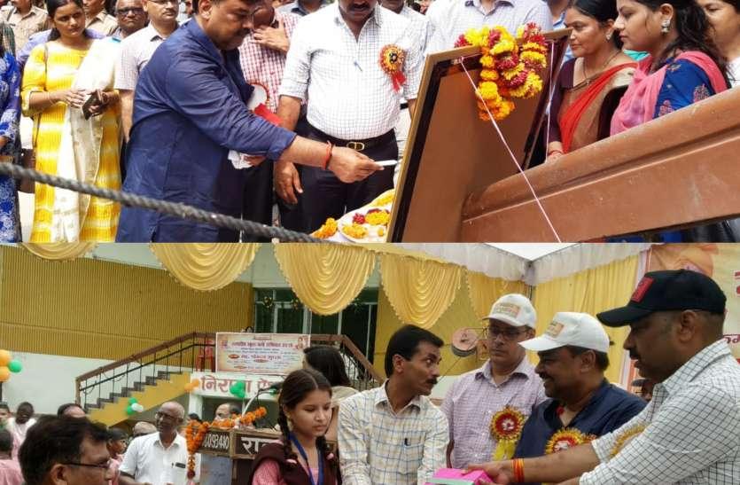यहां निशुल्क किताबें, बस्ते व ड्रेस के साथ भोजन की भी व्यवस्था - देवेंद्र कुमार पांडे