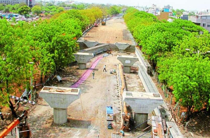 पीपल्याहाना ब्रिज पर जनवरी से दौडऩा है वाहन पर एक्सपर्ट टीम ने लौटा दी डिजाइन