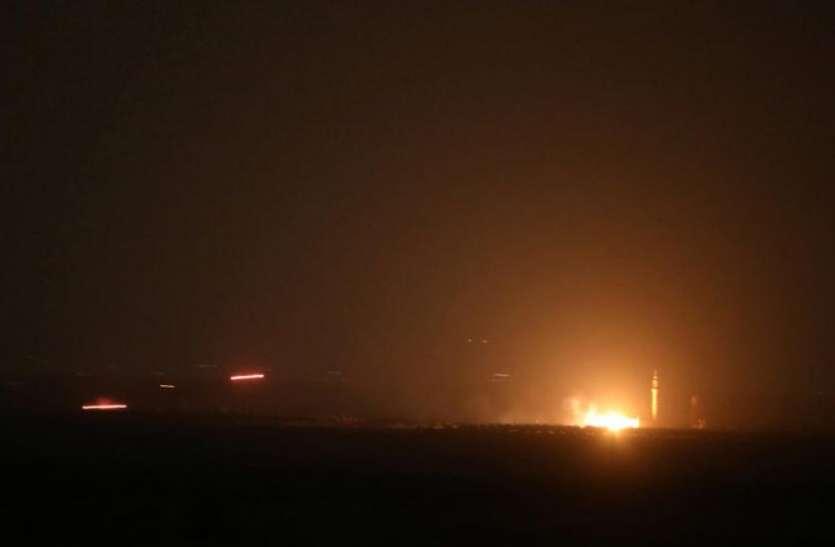 सीरिया के कई इलाकों पर इजराइल ने दागीं मिसाइलें, 4 की मौत, 21 घायल