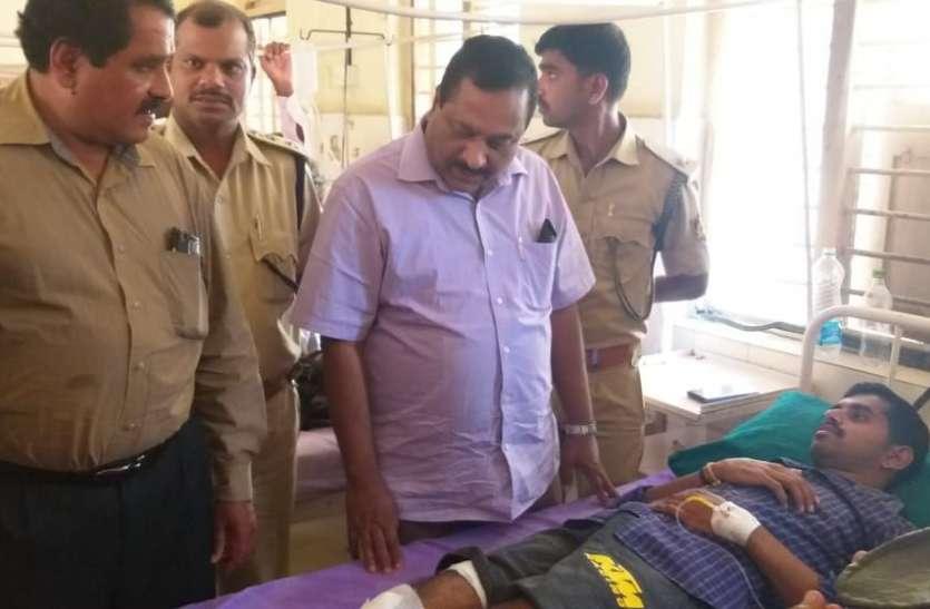 Tiger attack : बाघ के हमले में आरएफओ घायल